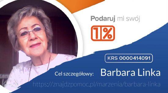 Pomóżmy Pani Basi!
