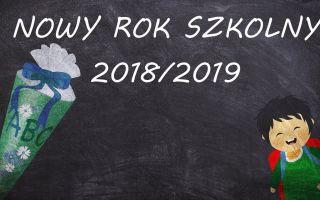 Nowy rok szkolny 2018/19