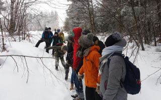 Zimowy wyjazd młodzieży