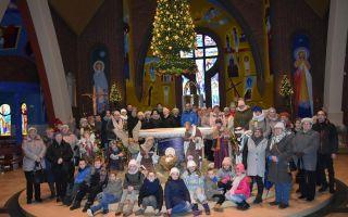 """Wyjazd parafian """"Szlakiem szopek bożonarodzeniowych"""""""