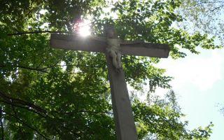 Rozbiórka krzyża