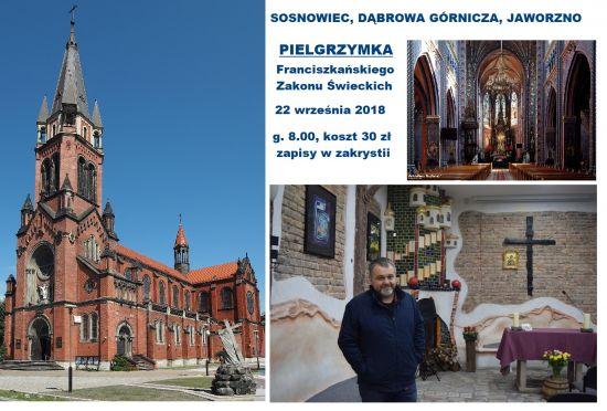 Pielgrzymka FZŚ: Sosnowiec, Dąbrowa Górnicza, Jaworzno