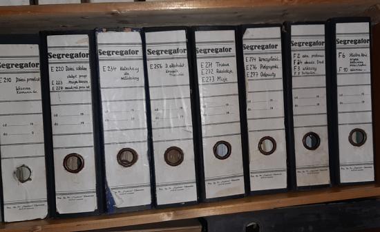 Historia zapisana w dokumentach - archiwum parafialne