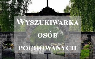 Wyszukiwarka grobów na cmentarzu parafialnym