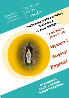 Pielgrzymka dekanatu do Sanktuarium MB z Lourdes w Kochłowicach